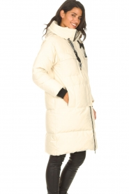 Silvian Heach |  Long down jacket Bodax | natural  | Picture 6