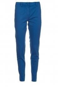 MASONS | Chino broek New York | blauw  | Afbeelding 1