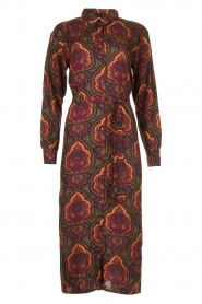 Les Favorites |  Paisly print dress Kiki | multi  | Picture 1