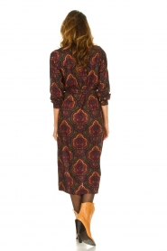 Les Favorites |  Paisly print dress Kiki | multi  | Picture 6