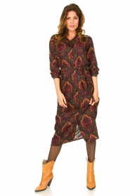 Les Favorites |  Paisly print dress Kiki | multi  | Picture 4