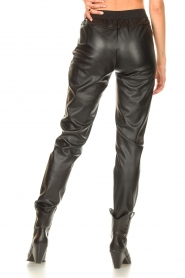Silvian Heach |  Faux leather pants Framitid | black  | Picture 6