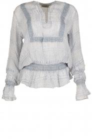 Hunkydory | Tuniek blouse Ruth | blauw  | Afbeelding 1