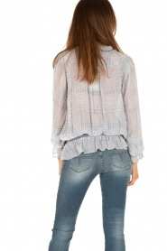 Hunkydory | Tuniek blouse Ruth | blauw  | Afbeelding 4