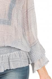Hunkydory | Tuniek blouse Ruth | blauw  | Afbeelding 5