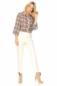 Silvian Heach    Trousers with golden buttons Atinax   natural    Picture 2