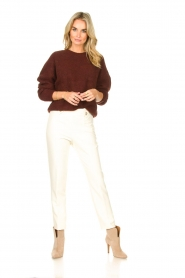 Silvian Heach    Trousers with golden buttons Atinax   natural    Picture 3