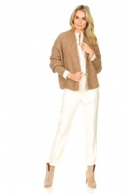 Silvian Heach    Trousers with golden buttons Atinax   natural    Picture 4