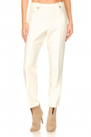 Silvian Heach    Trousers with golden buttons Atinax   natural    Picture 5