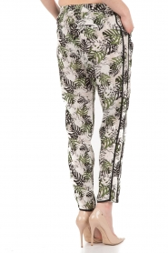 Silk trousers Marcela | print