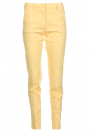 MASONS |  Chino pants New York | yellow  | Picture 1