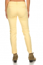 MASONS |  Chino pants New York | yellow  | Picture 6