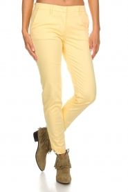 MASONS |  Chino pants New York | yellow  | Picture 2