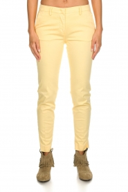 MASONS |  Chino pants New York | yellow  | Picture 4