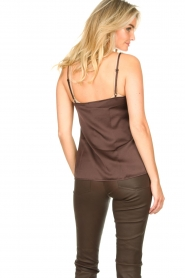 Les Favorites |  Sleeveless top April | brown  | Picture 5