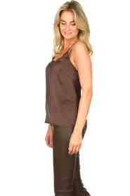 Les Favorites |  Sleeveless top April | brown  | Picture 4
