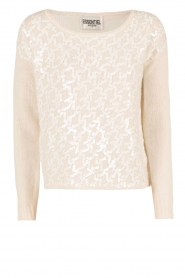 Woolen sweater Mouche | white