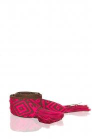 Les Favorites |  Printed belt Belle | pink  | Picture 1