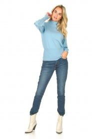 Silvian Heach | Coltrui met lurex Laredo | blauw  | Afbeelding 3