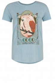 Leon & Harper | T-shirt Coco | blauw  | Afbeelding 1