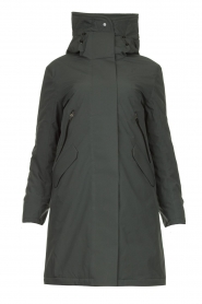 Krakatau |  Luxurious parka coat Mercury | grey  | Picture 1