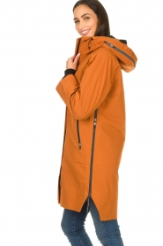 Krakatau |  Parka with detachable quilted Liner | orange  | Picture 7