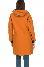 Krakatau |  Parka with detachable quilted Liner | orange  | Picture 8