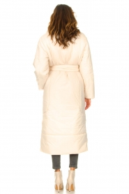 Second Female |  Puffer jacket with matching waistbelt Eva | natural  | Picture 6