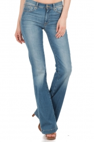 7 For All Mankind | Jeans Charlize lengtemaat 36 | blauw  | Afbeelding 2
