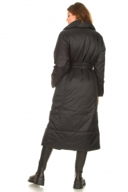 Second Female    Puffer jacket with matching waistbelt Eva   black    Picture 8