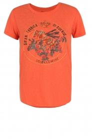 Leon & Harper | T-shirt Bee | oranje  | Afbeelding 1