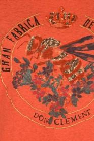 Leon & Harper | T-shirt Bee | oranje  | Afbeelding 6
