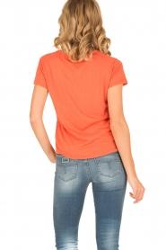 Leon & Harper | T-shirt Bee | oranje  | Afbeelding 5
