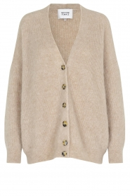 Second Female |  Knitted cardigan Grenthe | beige  | Picture 1