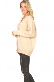 Second Female   Gebreid vest Grethe   beige     Afbeelding 6
