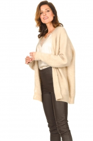 Second Female |  Knitted cardigan Grethe | beige  | Picture 5