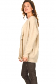 Second Female |  Knitted cardigan Grethe | beige  | Picture 6