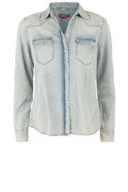 Denim blouse New Western | blauw