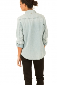 7 For All Mankind | Denim blouse New Western | blauw  | Afbeelding 5