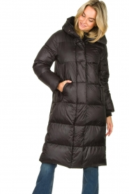 Krakatau |  Fitted down jacket Atikan | black  | Picture 2
