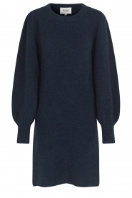 Second Female |  Knitted sweater dress Kalliroi | blue  | Picture 1