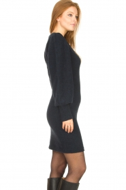 Second Female |  Knitted sweater dress Kalliroi | blue  | Picture 6