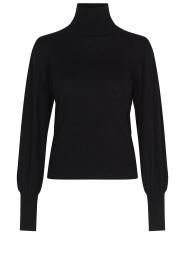 Second Female |  Turtle neck sweater Rosie | black  | Picture 1