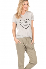 T-shirt Not Today | grey