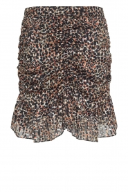 Second Female |  Smocked skirt with lurex Erna | black  | Picture 1