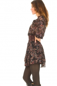 Second Female |  Skirt with floral print Miao | black  | Picture 5