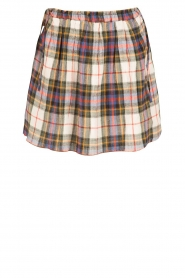 Leon & Harper |  Checkered skirt Jody | multi   | Picture 1