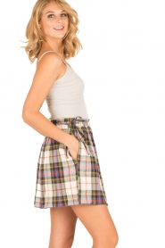 Leon & Harper |  Checkered skirt Jody | multi   | Picture 4