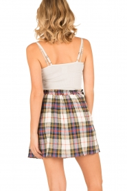 Leon & Harper |  Checkered skirt Jody | multi   | Picture 5
