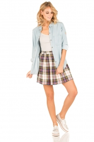 Leon & Harper |  Checkered skirt Jody | multi   | Picture 3